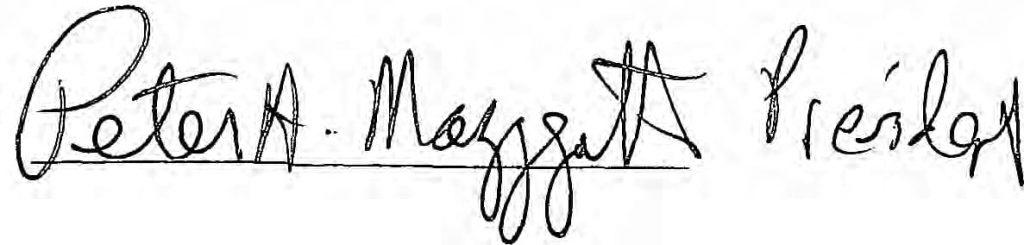 peter mazzagatti signature